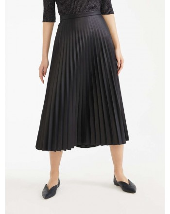 MAX MARA STUDIO - DULA Pleated Skirt - Blue