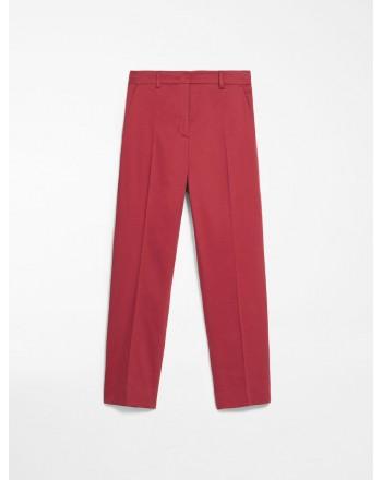 MAX MARA WEEKEND - Pantaloni rasatello di cotone - NOVAK - Ginger