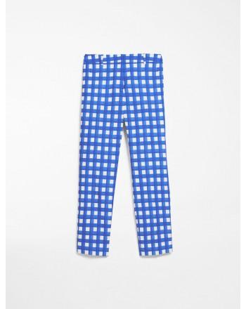 MAX MARA WEEKEND - Pantaloni in faille di cotone - CANARD - Ocean