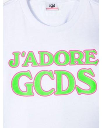 GCDS - Baby -  T-SHIRT J'ADORE MANICA CORTA