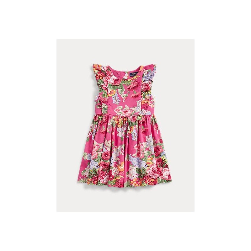 POLO RALPH LAUREN KIDS - FLORA DRESS -