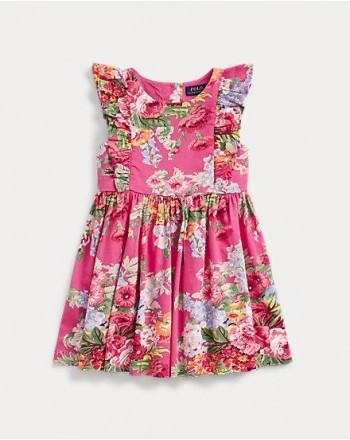 POLO RALPH LAUREN KIDS - FLORA DRESS