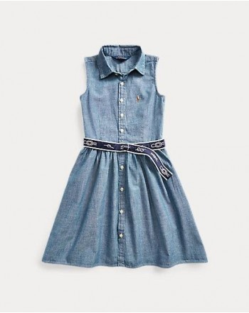 POLO RALPH LAUREN KIDS - ABITO DENIM CHAMBRAY