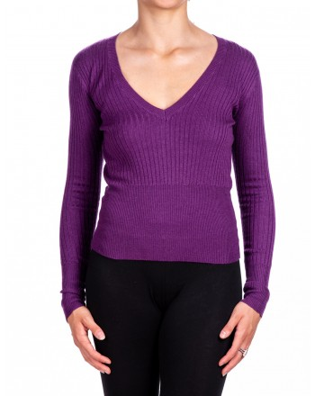 PINKO - FLORIDA Jersey  Rib - Purple