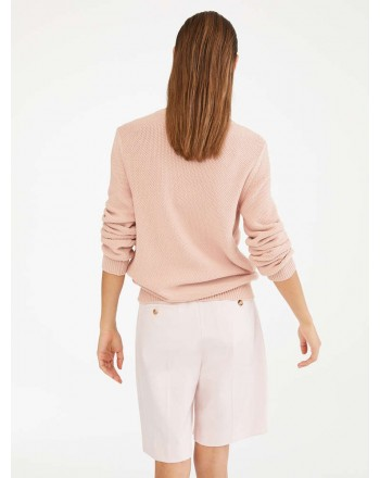 MAX MARA - Cotton cord sweater - GALA - Pink