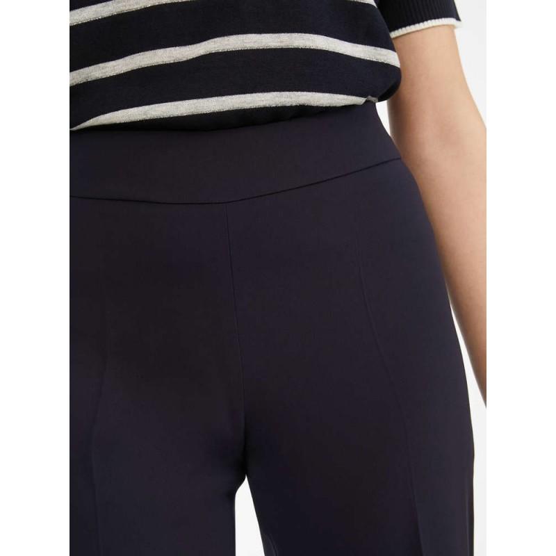 MAX MARA STUDIO - Pantalone in Cady OVALE - Blu