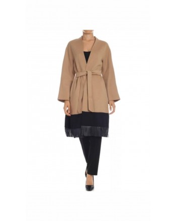 MAX MARA STUDIO - Cappotto in Lana PANETTO - Cammello