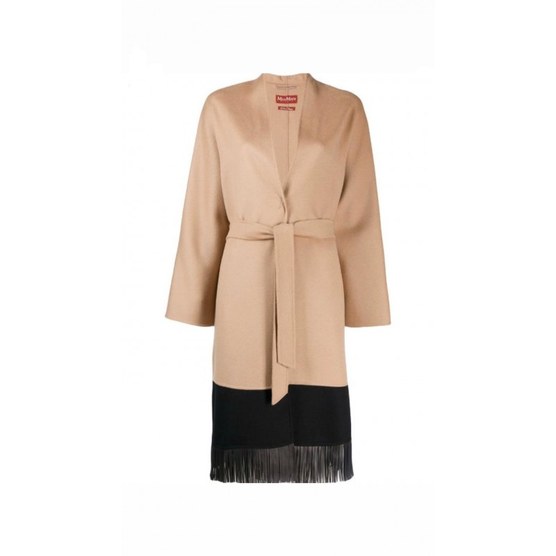 MAX MARA STUDIO - PANETTO Wool Coat - Camel