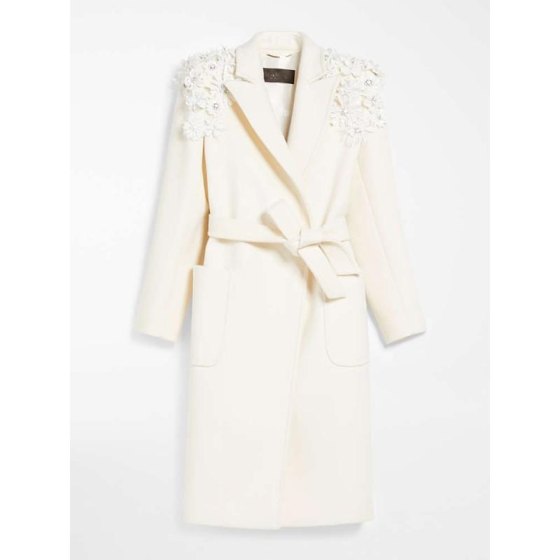 MAX MARA - Cashmere wool coat - TEMPRA - White