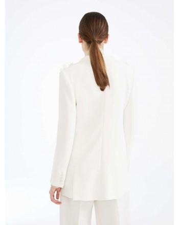 MAX MARA - Cady blazer - BE - White