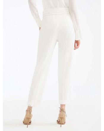 MAX MARA - Cady trousers - ANAGNI- White