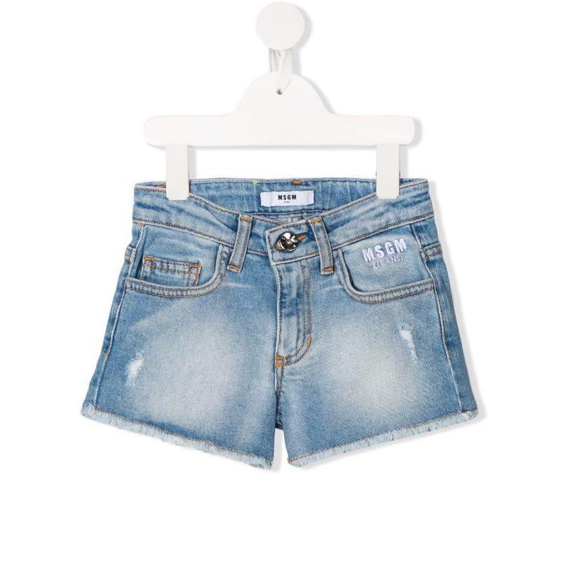 MSGM Baby- Denim Shorts - Denim