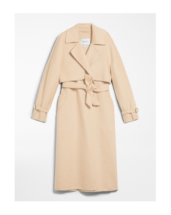 MAX MARA - Cashmere and Camel Coat - AGAR - Light Camel