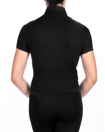 PINKO - Pleated Knit FILIGREE   - Black