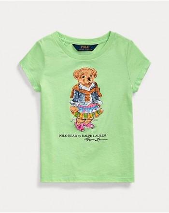 POLO RALPH LAUREN KIDS - T-SHIRT PRINT BEAR
