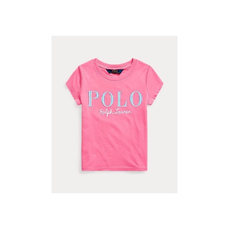 POLO RALPH LAUREN KIDS . T-SHIRT POLO LOG
