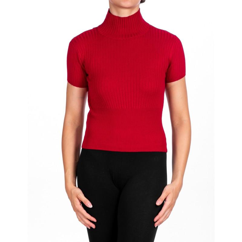 PINKO - Pleated Knit FILIGREE   - Red