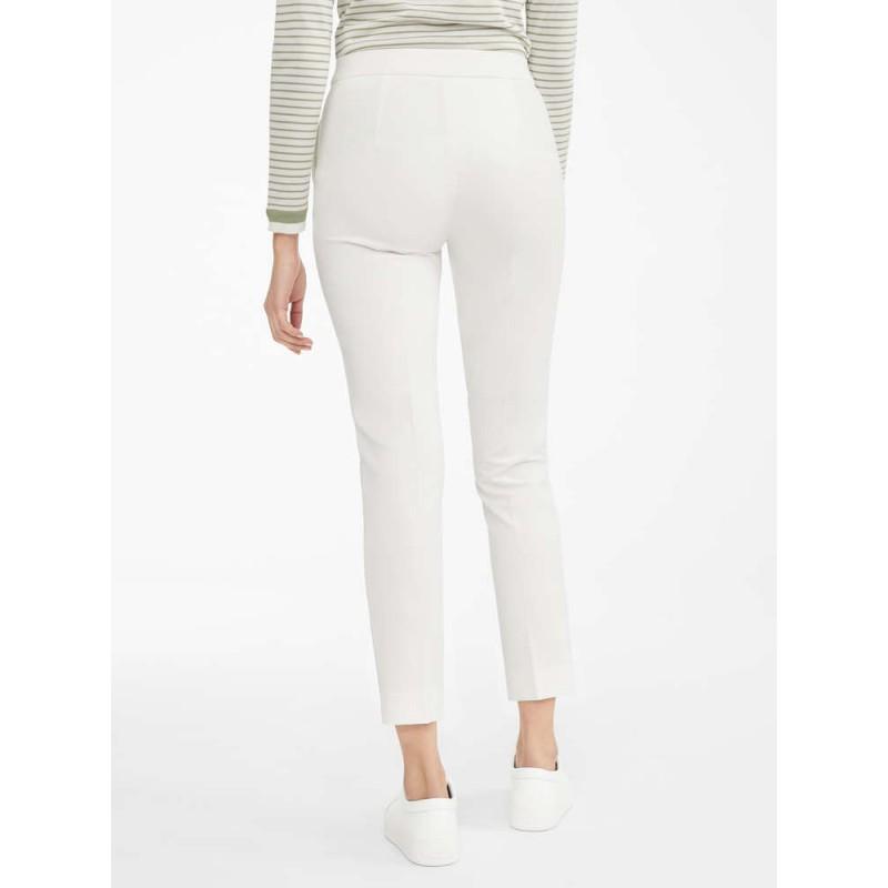 MAX MARA - Viscose jersey trousers - PEGNO - White