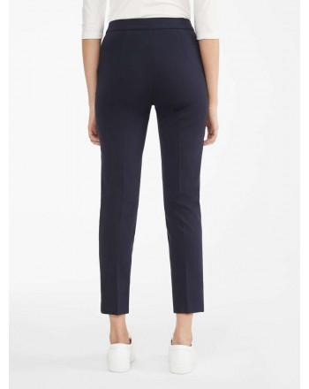 MAX MARA - Pantaloni in jersey di viscosa - PEGNO - Blu Marino