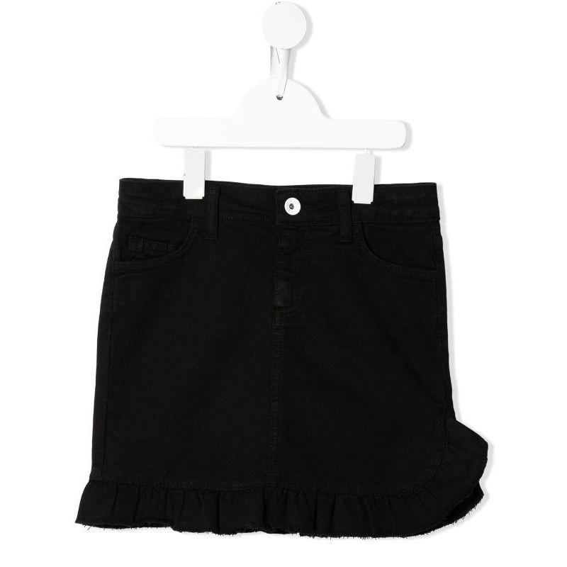 MSGM Baby- Denim Skirt- Black