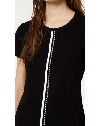 LIU-JO Sport - Jewels T-Shirt- Black