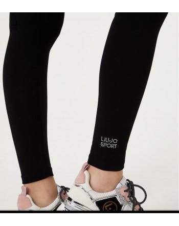 LIU-JO Sport - Leggings logato - Nero