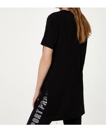 LIU-JO Sport - T-shirt eco friendly - Nero