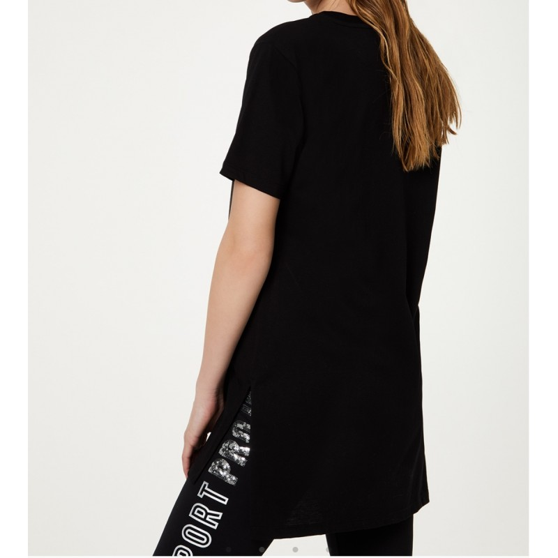 LIU-JO Sport - Eco-friendly T-shirt - Black