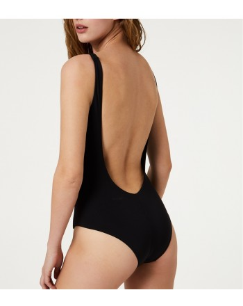 LIU-JO SWIMWEAR- Star Swimsuit- Black