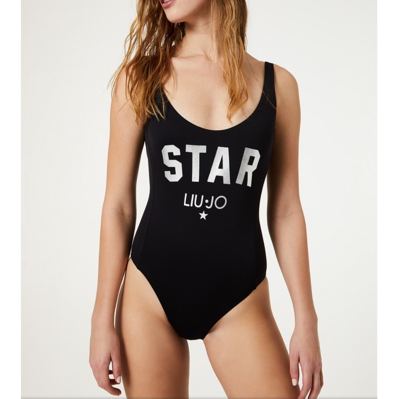 LIU-JO MARE - Costume Intero Star- Nero