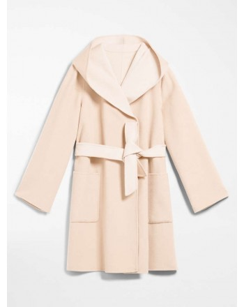 MAX MARA STUDIO -LEMBO Coat - Nude/Powder