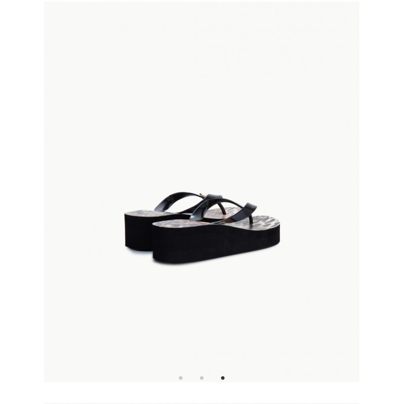 LIU- JO BEACHWEAR  -Flip Flops with Platform -White