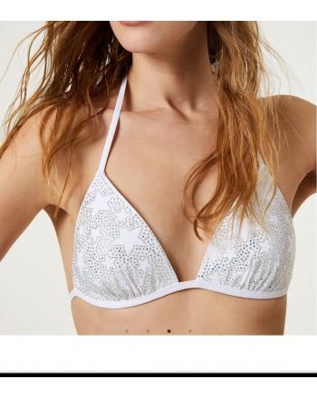 LIU-JO MARE  -Bikini Triangolo Imbottito - Bianco