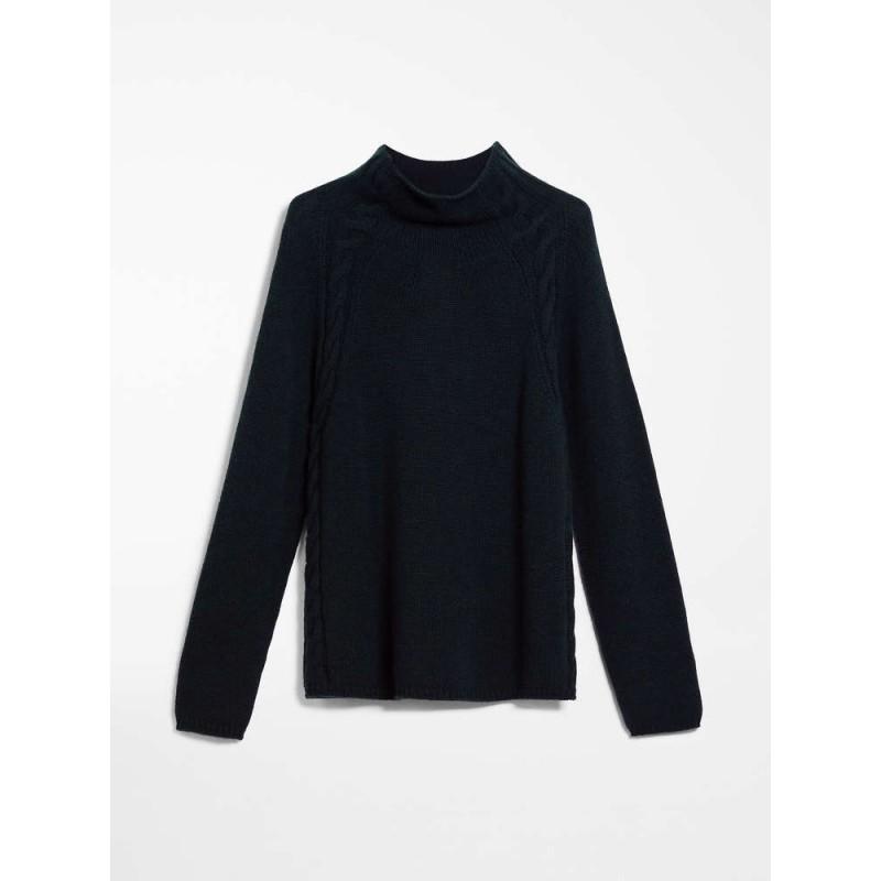 S MAX MARA - Cashmere yarn sweater - NARVEL - New dark blue