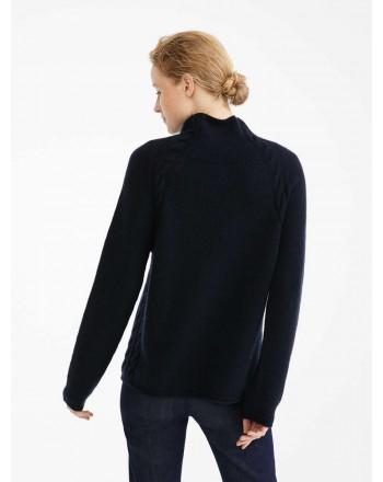 S MAX MARA - Maglia in filato di cashmere - NARVEL - New dark blu