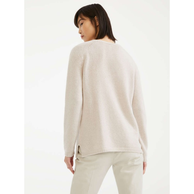 S MAX MARA - Cashmere yarn sweater - GIORGIO - Ecrù