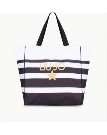 LIU- JO BEACHWEAR  Beach Bag -White/Black