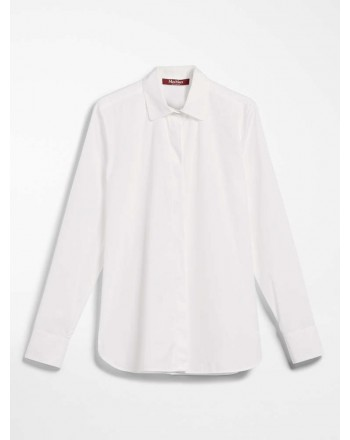 MSGM Baby- SMIRNE Cotton Popeline Shirt- White