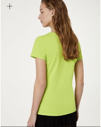 LIU-JO Sport - Printed  BASIC Cotton T-Shirt - Germ