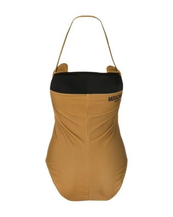 Moschinomare d - ONE PIECESWIMSUIT MUSTARD TEDDY TOY