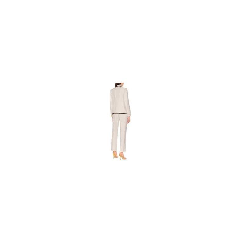 DRIES VAN NOTEN - Jacket with profiles - ecru