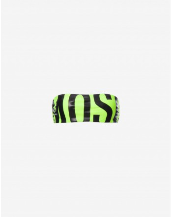Moschinomare d - BANDEAU TOP LOGO YELLOW FLUORESCENT