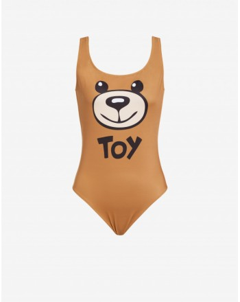 Moschinomare d -  OLYMPIC SWIMSUIT WITH TOY PRINT