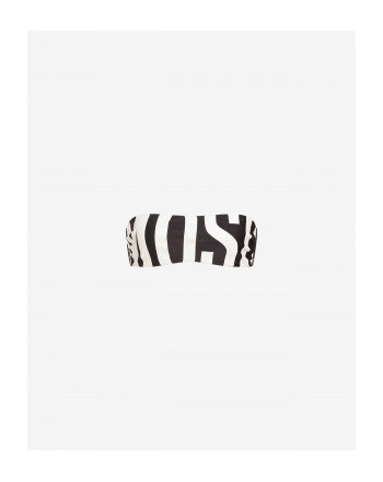Moschinomare d - BANDEAU TOP LOG BLACK/WHITE