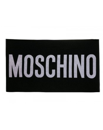 Moschinomare d -  TELO MARE SCRITTA MOSCHINO