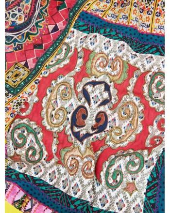 ETRO - Pantalone Palazzo in Crepe de Chine- Fantasia