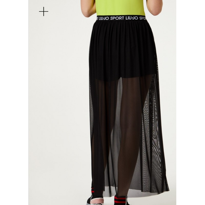 LIU-JO Sport - Tulle skirt with shorts - Black