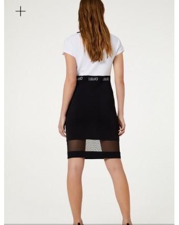 LIU-JO Sport - Bicolor Dress - White/Black