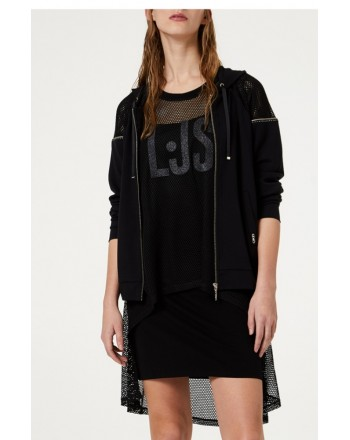 LIU-JO Sport - Mesh dress - Black