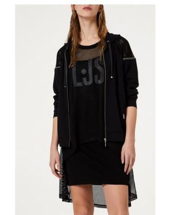 LIU-JO Sport - Vestito con rete - Nero